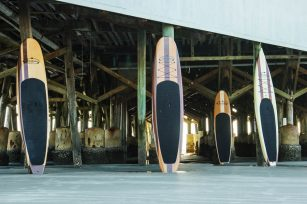 Three Brothers Boards Boards Under the Pier