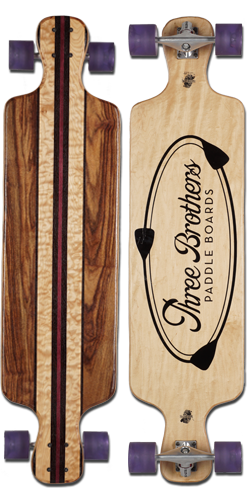 Three Brothers Longboard Exotic 1